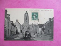 CPA 44 BOURG DE BATZ ABSIDE DE L'EGLISE CHARRETTE - Batz-sur-Mer (Bourg De B.)
