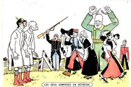 Guerre 1914 -1918 - Carte Postale Humoristique - Russia