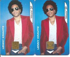 """2 Télécartes De FRANCE """" LENNY KRAVITZ - Lenny """" - 50 U 08/02 ( N° 1208 - Musique ) - Musik"""