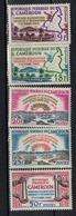 CAMEROUN       N°  YVERT      355/359    NEUF AVEC CHARNIERES        ( Char 04/A ) - Cameroon (1960-...)