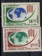CAMEROUN       N°  YVERT      365/366    NEUF AVEC CHARNIERES        ( Char 04/A ) - Cameroon (1960-...)