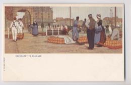 ALKMAAR - Pays Bas - MARCHÉ AUX FROMAGES -  Kaasmarkt Te Alkmaar - Alkmaar