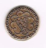 &-  PENNING  COLLECTION - BP - SAINT LOUIS  ECU D'OR 1266 - Pièces écrasées (Elongated Coins)