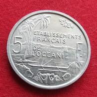 French Oceania 5 Franc 1952 Oceanie Polynesia - French Polynesia