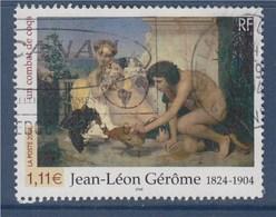 = Jean-Léon Gérôme Un Combat De Coq, Détail Tableau Du Peintre N°3660 Oblitéré - Gebraucht