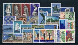 Griechenland 1967 Kpl. Jahrgang Postfrisch - Grecia