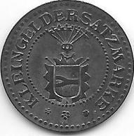 *notgeld Neumunster 10 Pfennig ND Zn 368.2a - [ 2] 1871-1918 : Empire Allemand