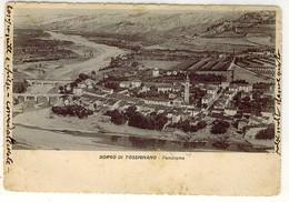 BOLOGNA BORGO TOSSIGNANO PANORAMA 1945 TASSATA - Bologna