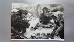 RUSSIA. Far East. Kamchatka.  Chukcha After Hunting - Rare Postcard 1950s - Russia