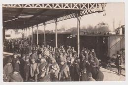 La Pallice-Rochelle, Carte-photo, Prisonniers Allemands - La Rochelle