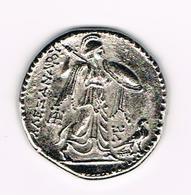 &-   PENNING  OUDE GRIEKSE MUNT AAE=ANAPOY - Souvenirmunten (elongated Coins)