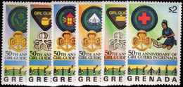 Grenada 1976 Girl Guides Unmounted Mint. - Grenada (1974-...)