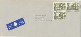 Canada Cover Sent Air Mail To Denmark Toronto 8-9-1971 - Brieven En Documenten