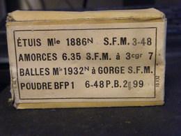 TRES BELLE BOITE PLEINE DE 8 MM LEBEL - 1939-45