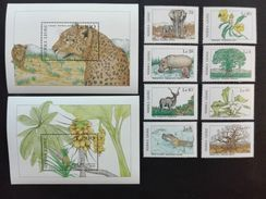 Sierra Leone 1987** Mi.1036-43,bl.68,bl.69 Fauna And Flora MNH [21;40] - Timbres