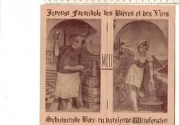 OD 770 - ADINKERKE JOYEUSE FARANDOLE DES BIÈRES ET DES VINS - SCHUIMENDE BIER EN WIJNFEESTEN - Publicités