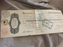 Chatelineau 1881 Charbonnage Trieu Kaisin Avec Numéro 32 - 1800 – 1899
