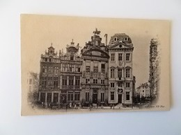 CPA.- BRUXELLES - La Maison Des Brasseurs , Braserie Du Cygne,Estaminet Billards, - Cafés, Hôtels, Restaurants