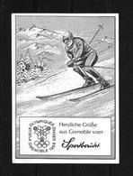 1968 Olympische Winterspiele Grenoble - Frankreich