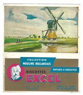 BUVARD    BISCOTTES  EXEL - Blotters