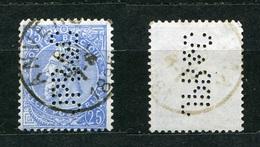 Belgien Nr.55        O  Used       (896) Perfin: JPB & C - Lochung