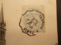 Marcophilie  Cachet Lettre Obliteration -  Convoyeur Sannois à Paris - 1905 - (2059) - Postmark Collection (Covers)