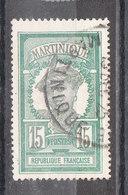 MARTINIQUE YT 66 Oblitéré - Martinique (1886-1947)