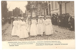 Anderlecht - Fêtes Jubilaires St Guidon / Jubelfeesten St Guido Sept. 1912 - Ed. Climan-Ruyssers - NR 20 - Animée - Anderlecht