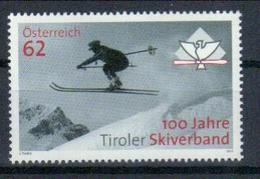 Österreich '100 J. Tiroler Skiverband' / Austria 'Centenary Of Tyrol Skiing Association' **/MNH 2013 - Ski