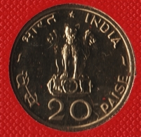 INDIA 20 PAISE 1970 ♦  FAO KM# 43 Mumbai Mint - India