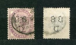Großbritannien Nr.65 II        O  Used       (1094) Perfin: BBD - Grande-Bretagne