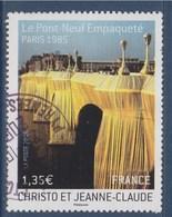 = Le Pont Neuf Empaqueté Par Christo Et Jeanne Claude, Vue Du Pont En 1985 N°4369 Oblitéré - Gebraucht