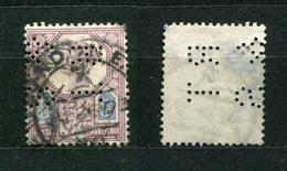 Großbritannien Nr.93        O  Used       (1099) Perfin: RT & S - Grande-Bretagne
