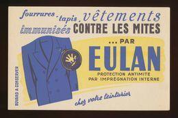Buvard - CONTRE LES MITES - EULAN - Buvards, Protège-cahiers Illustrés