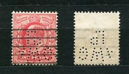 Großbritannien Nr.104        O  Used       (1104) Perfin: AWG LD - Perfins