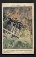 Guerre WW1 Dardanelles - La Fin Du Bouvet - Cuirassé De La Marine Française,- Carte 9X14cm - Guerre 1914-18