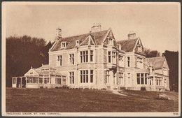 Treloyhan Manor, St Ives, Cornwall, 1956 - Photochrom Postcard - St.Ives