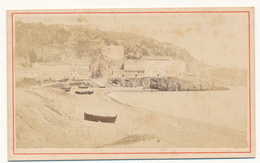 Photo CDV - NICE, Pointe Des Ponchettes - Photo E. Degand - Photos