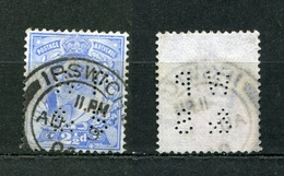 Großbritannien Nr.107        O  Used       (1107) Perfin: WP & S - Perfins