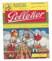BUVARD    BISCOTTES  PELLETIER - Blotters