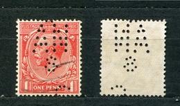 Großbritannien Nr.155        O  Used       (1115) Perfin: ANS - Perfins