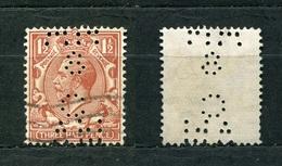 Großbritannien Nr.156        O  Used       (1116) Perfin: CAN8 - Perfins