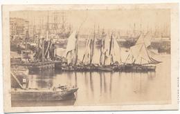 Photo CDV - LE HAVRE, Le Port - Photo Kaiser - Anciennes (Av. 1900)