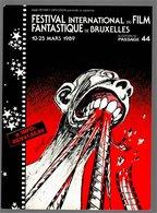 Mini Calendrier 1989 BIFFF Brussels International Fantastic Film Festival - Régis Loisel - Small : 1991-00