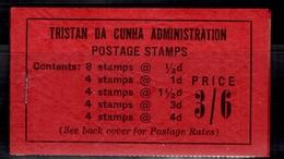 Tristan Da Cunha Superbe Carnet Neuf ** MNH De 1953. Rare Et TB! A Saisir! - Tristan Da Cunha