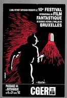 Mini Calendrier 1992 BIFFF Brussels International Fantastic Film Festival - Hergé - Small : 1991-00