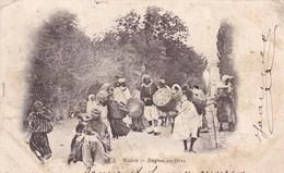 BISKRA / NEGRES EN FETES / CIRC 1904 - Biskra