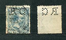 Spanien Nr.194        O  Used       (1059) Perfin: R.C - Spain