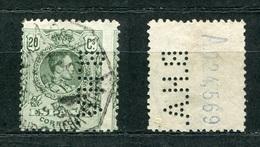 Spanien Nr.235        O  Used       (1064) Perfin: B.H.A - Spain