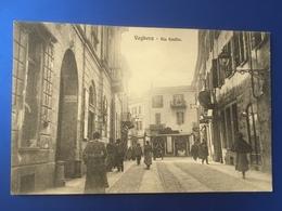 Voghera Via Emilia Animatissima Viaggiata 1910 - Pavia